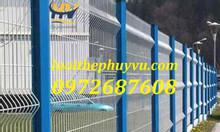 Hàng rào lưới thép hàn, lưới hàng rào sơn tĩnh điện
