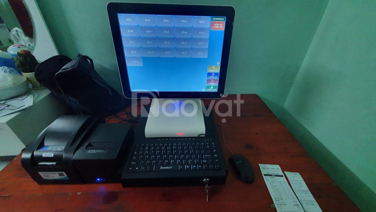 Máy tính tiền cho quán trà chanh tại Bắc Ninh giá rẻ (ảnh 5)