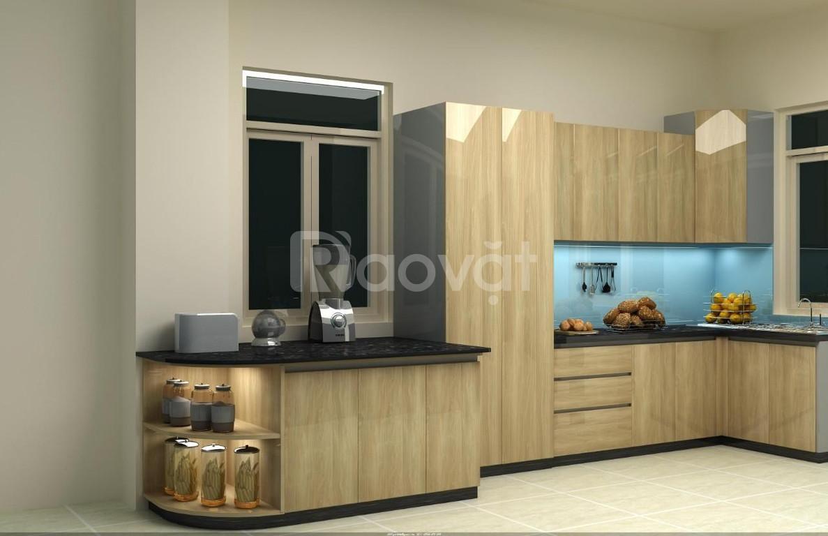 Tủ bếp Acrylic hiện đại tại TP HCM