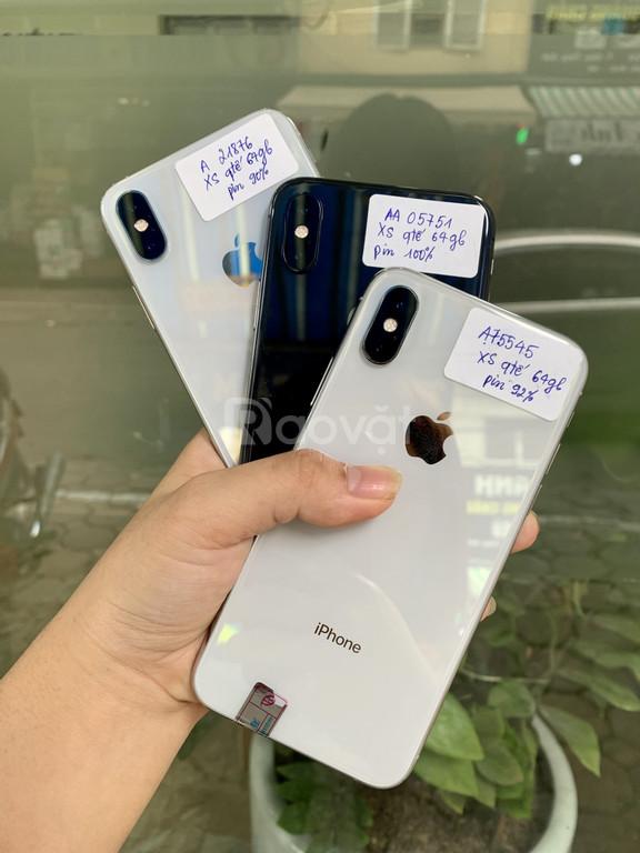Siêu phẩm iphone XS quốc tế zin áp, đẹp như mới, pin 9x-100%