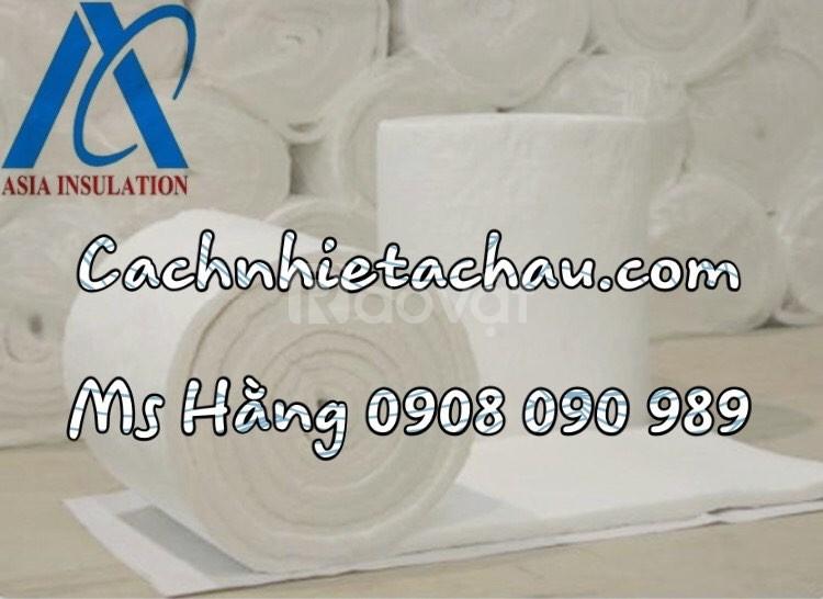 Cuộn bông sợi gốm Ceramic Luyang, Isolite cách nhiệt, chống nóng nhiệt (ảnh 4)
