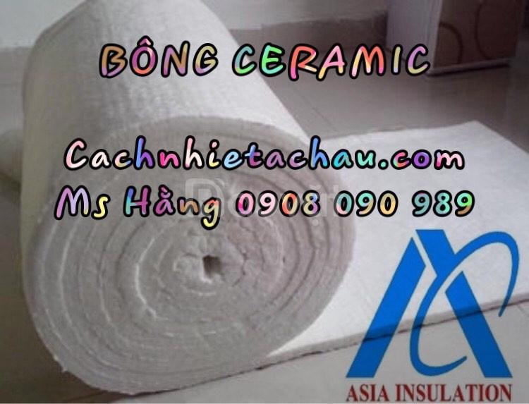 Cuộn bông sợi gốm Ceramic Luyang, Isolite cách nhiệt, chống nóng nhiệt (ảnh 5)