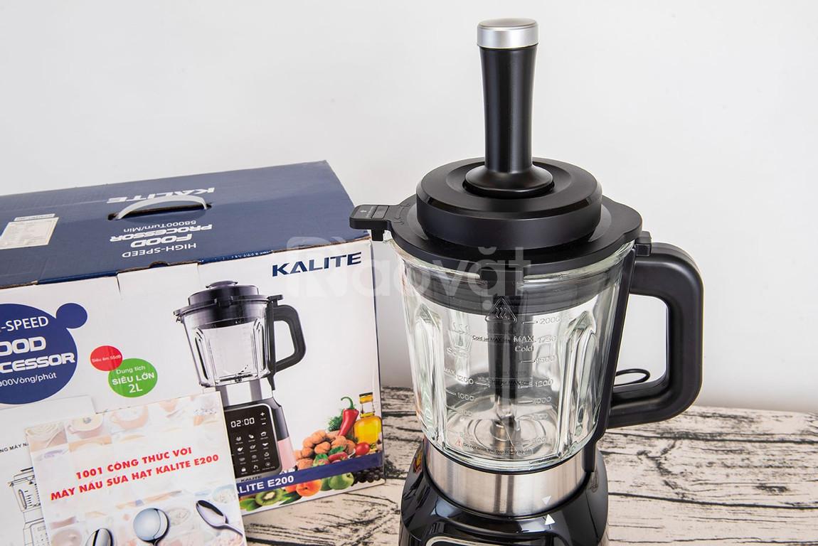 Máy làm sữa đậu nành bán chạy nhất KALITE E200