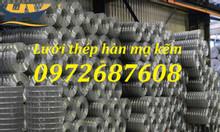 Lưới thép hàn mạ kẽm dây 1ly, 2ly, 3ly, 4 ly hàng có sẵn