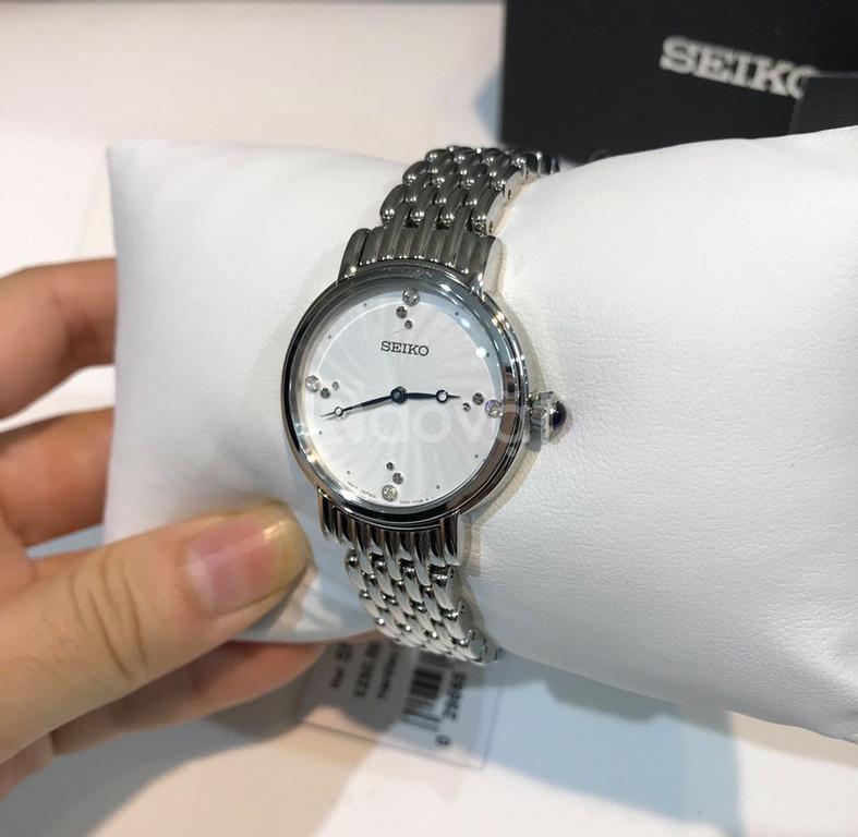 Đồng hồ Nữ Seiko Quartz Swarovski Crystals SFQ805 EE709