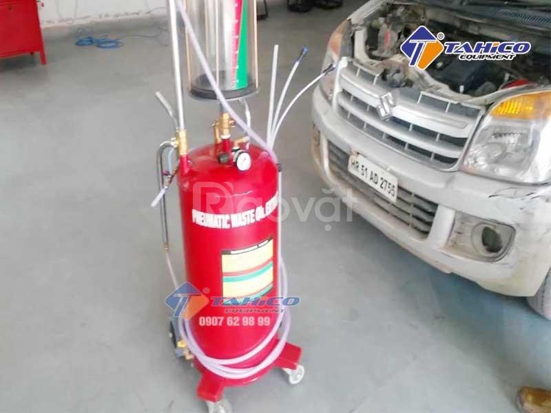 Máy hút dầu thải ô tô dùng khí nén HC-2097