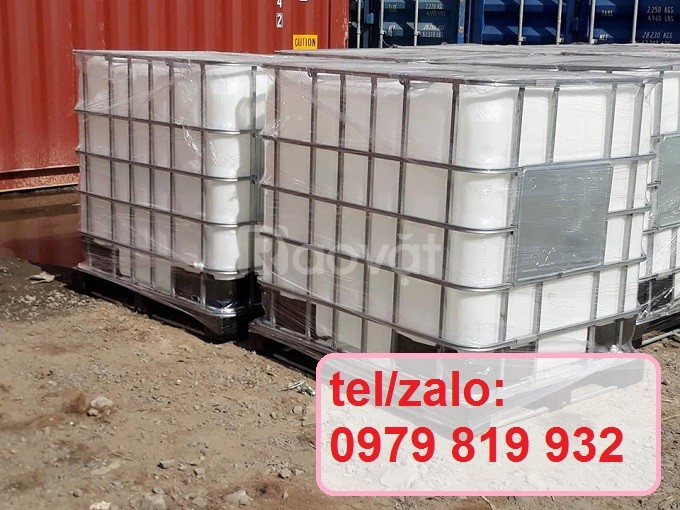 Bán tank nhựa vuông bồn nhựa đã qua sử dụng 1000l
