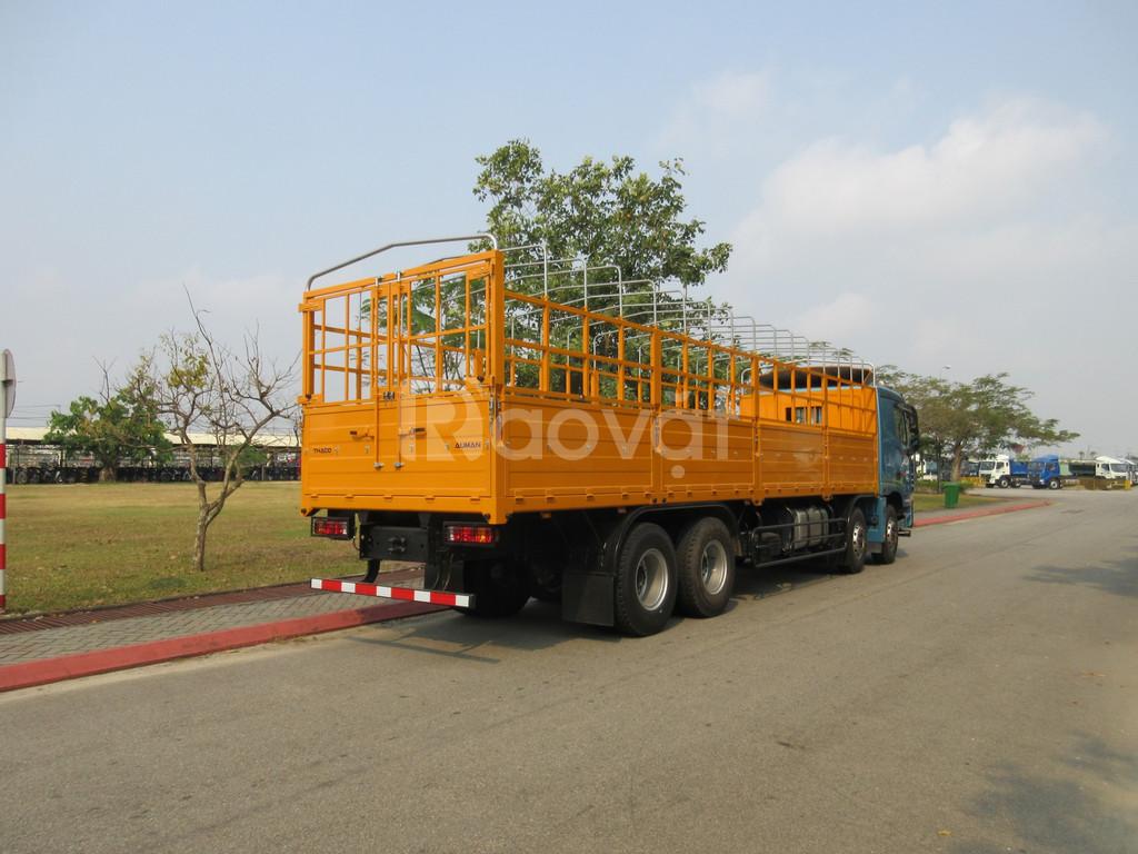 Thaco Auman C300.e4 xe ben nặng tại Hải Dương