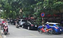 Cho thuê nhà mặt phố Trần Huy Liệu, 45m2, 2 tầng, 4.5m mặt tiền
