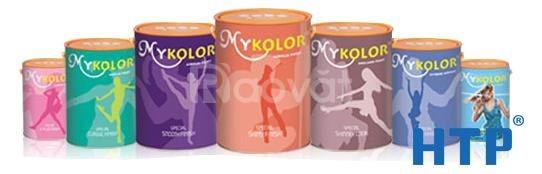 Đại lý cung cấp sơn Mykolor Classic Finish thùng 18L màu trắng giá rẻ