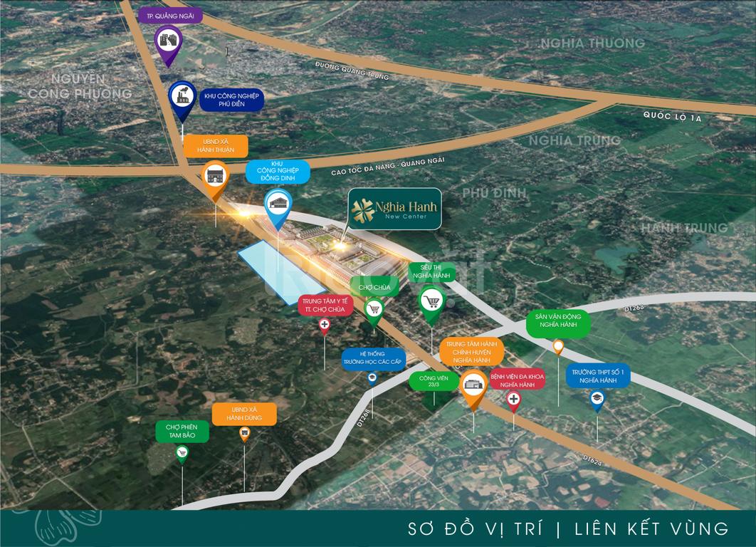 Bán đất trung tâm Quảng Ngãi
