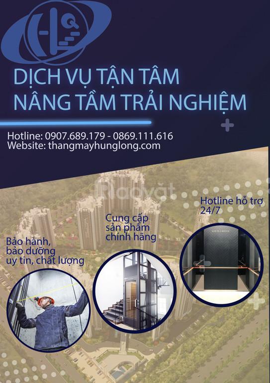 Lắp đặt thang máy gia đình tại Hải Dương