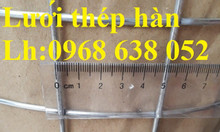 Lưới thép hàn phi 3 mắt 50x50 khổ 1mx15m, 1.2mx15m, 1mx30m