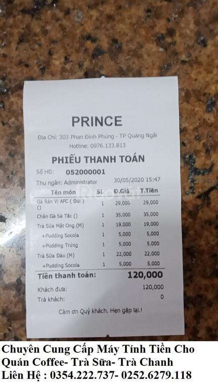 Chuyên máy tính tiền cho quán Coffee tại Ninh Thuận giá rẻ (ảnh 4)