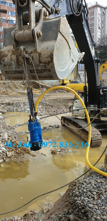 0972.836.116 Giá bơm chìm nước thải Tsurumi Nhật bản KTZ67.5, 7.5kw (ảnh 4)