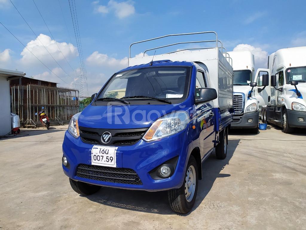 Báo giá xe tải foton 900kg máy 1.5L khuyến mãi