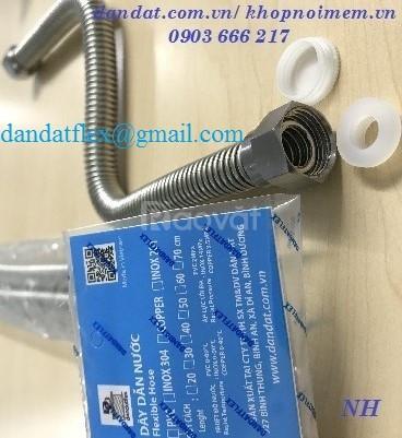 Chọn dây dẫn nước nóng lạnh inox 304, ống cấp nước, dây cấp nóng lạnh