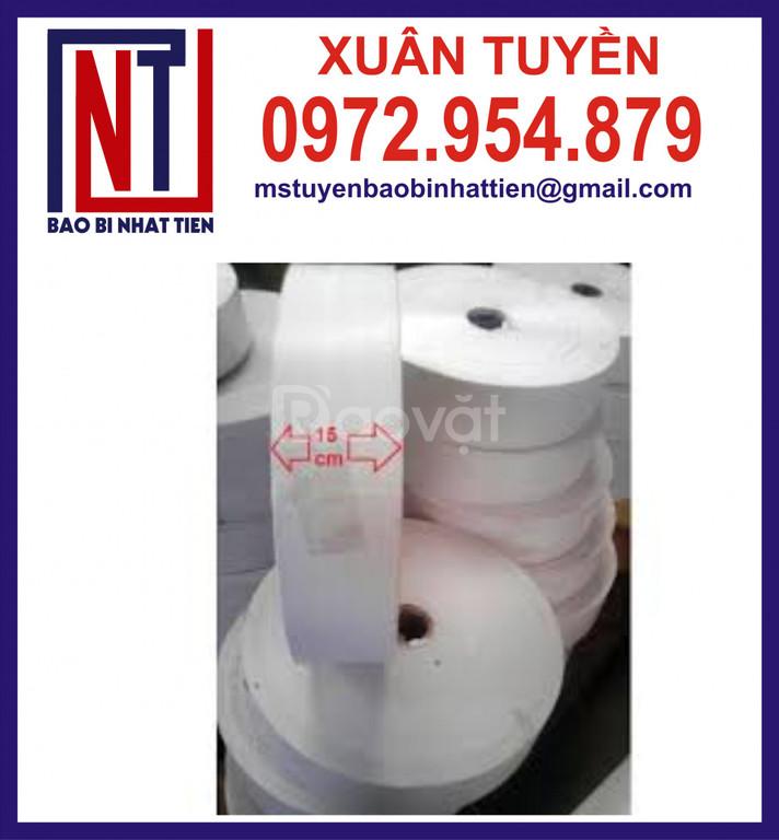 Cuộn PP dệt khổ lớn, cung cấp vải PP dệt dạng cuộn