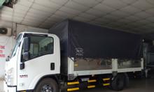 isuzu 1.950kg thùng bạt 4.4m, đầu vuông, KM máy lạnh...