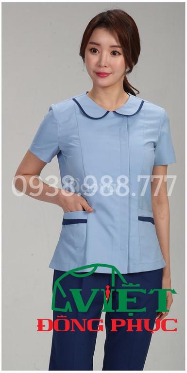 Nhận may trang phục điều dưỡng viên giá rẻ, nhanh, chuẩn, đẹp, mẫu