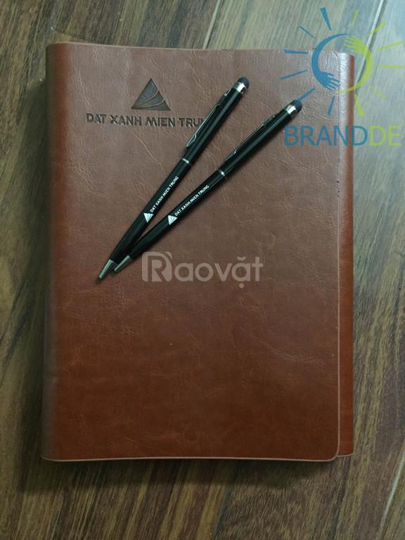 Bút bi cảm ứng 2 trong 1 in ấn logo theo yêu cầu quà tặng doanh nghiệp