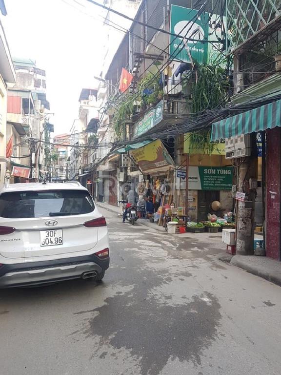 Bán đất phân lô Lạc Long Quân, Tây Hồ 65 m2 ngõ ô tô tránh