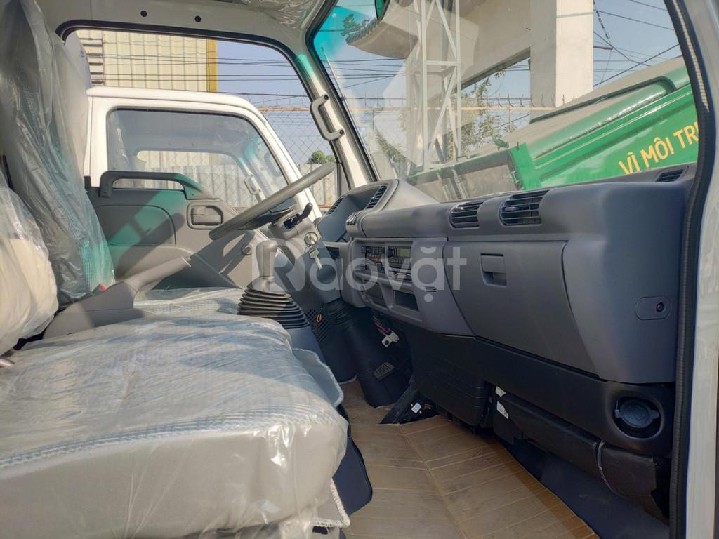 Xe tải isuzu 1T9 thùng dài 6m2, Isuzu Vĩnh Phát 1T9 vào thành phố.