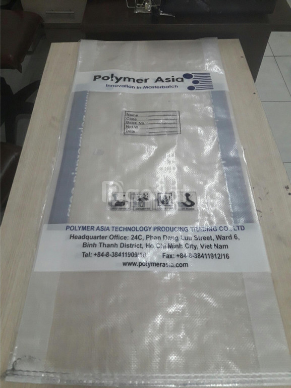 Bao PP dệt trắng ghép màng OPP đựng 10kg, 25kg, 50kg