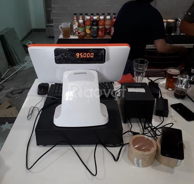 Nhận lắp đặt máy trọn bộ máy tính tiền cho quán cafe tại Đà Nẵng