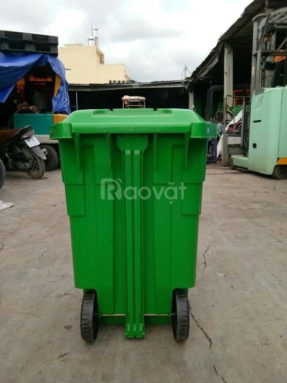 Thùng rác công nghiệp 70 lít đạp chân (ảnh 5)