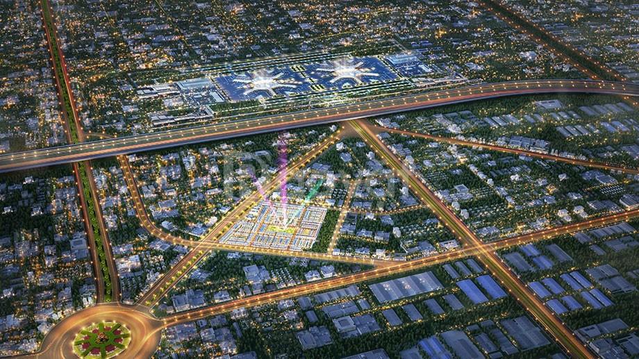 Đất nền sổ hồng mặt tiền đường DT769 trung tâm thành phố sân bay