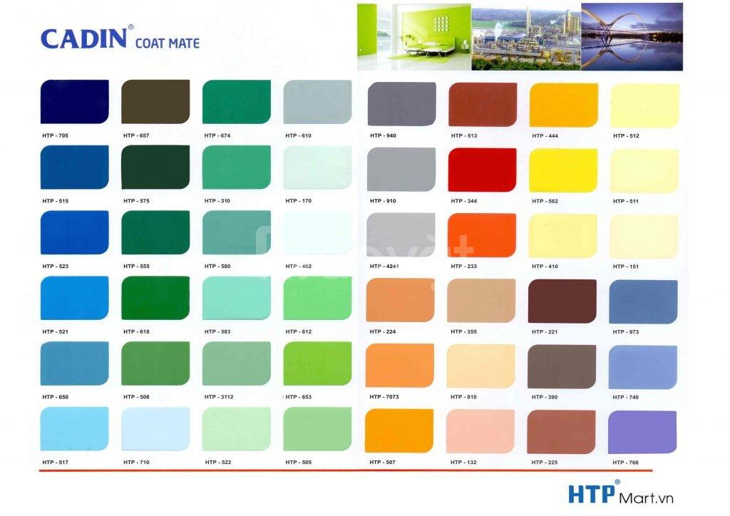 Nhà cung cấp sơn PU đa năng Cadin không cần lót  giá rẻ chất lượng SG