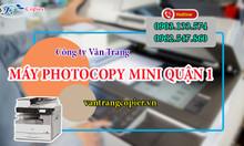 Máy photocopy mini quận 1