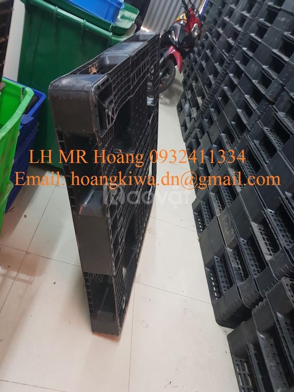 Mua bán Pallet nhựa cũ tại Quảng Ngãi, Quảng Nam LH 0932411334 (ảnh 5)