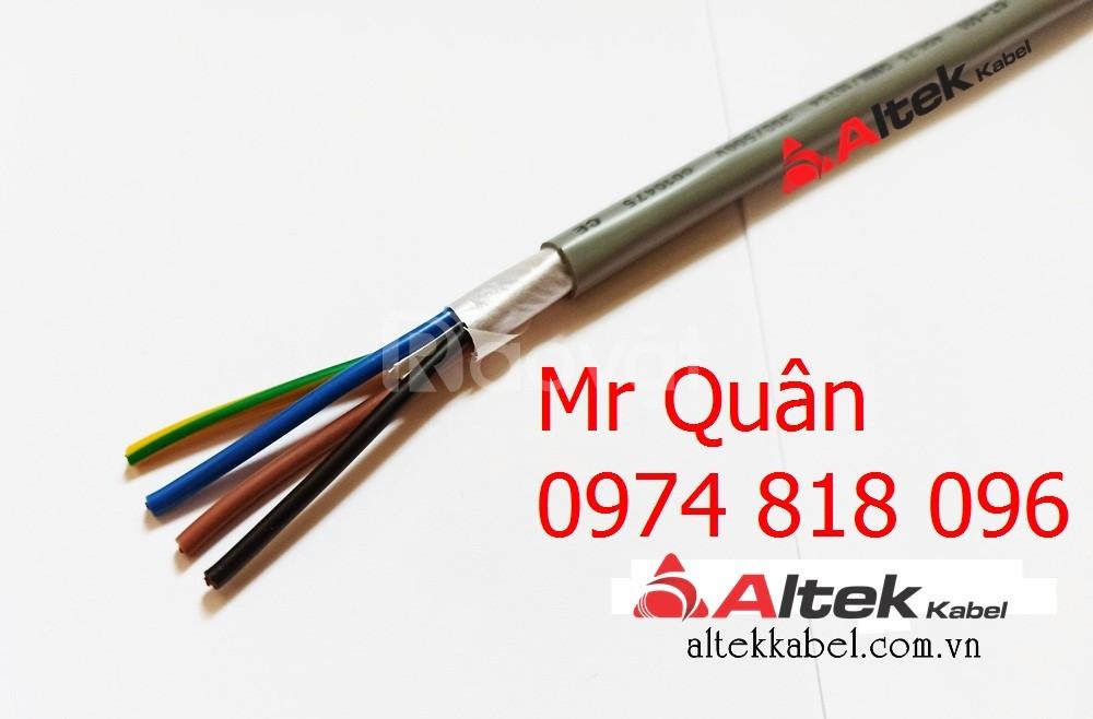 Cáp tín hiệu 4x0.5mm2 thương hiệu Altek Kabel