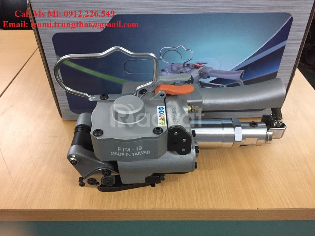 Máy đóng đai nhựa dùng khí nén XQD-19/ PTM-19