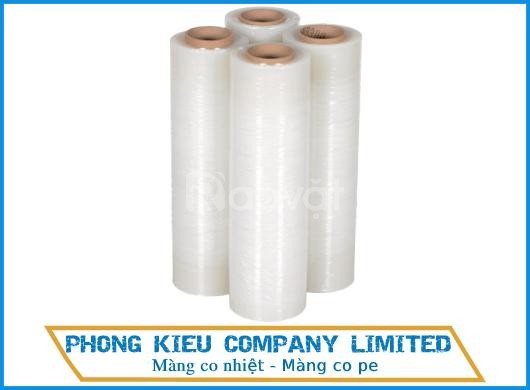 Nhà sản xuất màng pe, màng co pe, màng chít quấn hàng hóa - Phong Kiều