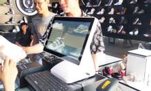 Bán máy tính tiền cảm ứng in hóa đơn cho shop giày dép