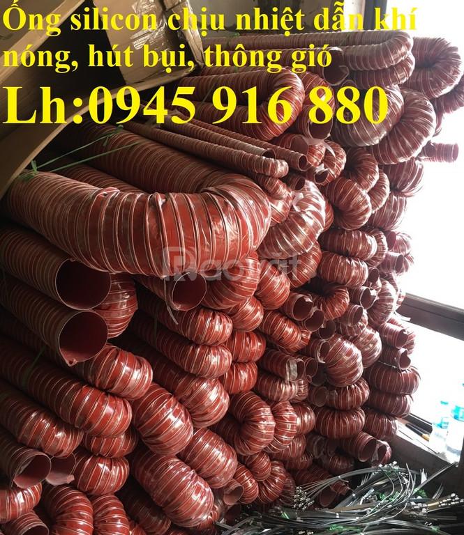Ống silicon chịu nhiệt D250, D200, D150, D125, D114, D100, D90, D76
