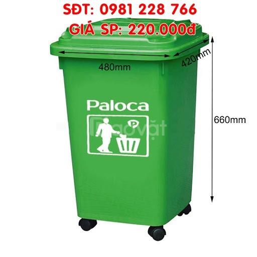 Cơ sở cung cấp thùng rác 60L thương hiệu Paloca chính hãng
