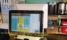 Bánmáy tính tiền cho quán trà chanhtại Vũng Tàu