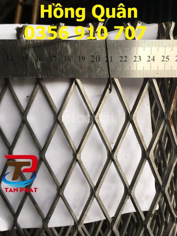 Lưới thép hình thoi, lưới kẽm, lưới dập giãn hình thoi