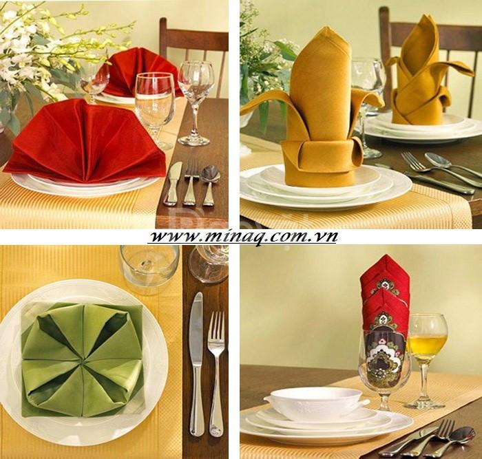 Khăn ăn Lacosa dùng cho nhà hàng, khách Sạn