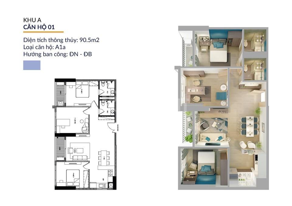 22tr/m2cho căn hộ cao cấp tại Athena Complex Pháp Vân