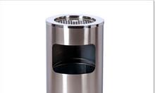 Giá thùng rác inox gạt tàn