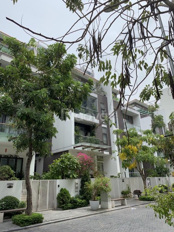 Bán nhà khu phân lô phố Hạ Đình, Thanh Xuân, DT 128m2 x 5T, hầm để xe.