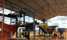 Trạm trộn bê tông sản xuất tấm đan bê tông