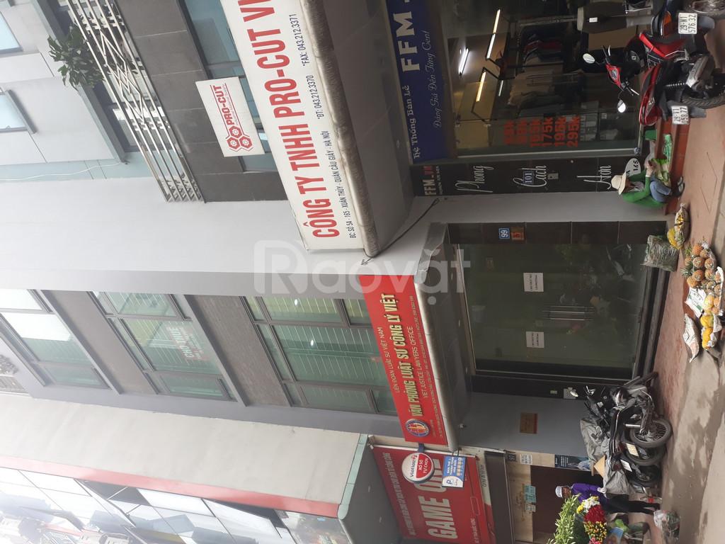 Mặt bằng kinh doanh, văn phòng 120m Trần Bình Nam Từ Liêm Hà Nội