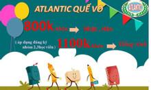 Khóa học 3 tháng cùng Atlantic với 800.000 đồng