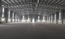 Cho thuê kho xưởng DT 4500m2 KCN Phố Nối B, Mỹ Hào, Hưng Yên